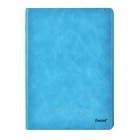 iSecret GSLCIP6XXBUC Protective PU + PC Case w/ Stand for IPAD AIR 2 - Blue