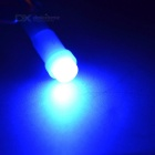 T5 0.1W COB LED Car Instrument Lamp Blue Light 490nm - Blue (10PCS)
