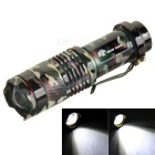SHARP EAGLE XP-E Q5 LED 117lm 3-Mode White Light Zooming Flashlight Torch - Camouflage (1 x 14500)