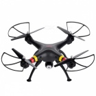 SYMA X8W-1 2.4GHz 4-CH R/C Radio Control Quadcopter w/ Gyro / 0.3MP Camera / Wi-Fi - Black