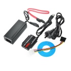 "USB 3.0 a 2.5""/ 3.5"" Adaptador IDE / SATA HDD - preto (no plugue)"