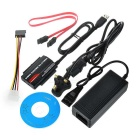"USB 3.0 a 2.5""/ 3.5"" Adaptador IDE / SATA HDD - preto (plug uk)"