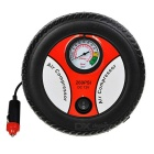 12V 90W Mini Car / Bike Electric Tyre Air Inflation Pump - White + Black
