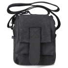 CADEN M1 Single Shoulder Canvas Camera Bag - Black