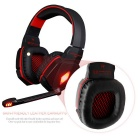 KOTION EACH G4000 Stereo Noise Cancelling Gaming Headset - Red+Black
