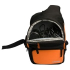 CADEN D5 Single Shoulder DSLR Camera Bag w / Regenhoes voor Canon, Nikon