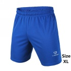 Men's Outdoor Breathable Quick-Drying Polyester Sports Shorts - Blue (XL)