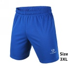 Men's Outdoor Breathable Quick-Drying Polyester Sports Shorts - Blue (XXXL)