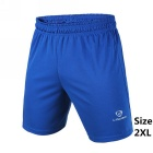 Men's Outdoor Breathable Quick-Drying Polyester Sports Shorts - Blue (XXL)
