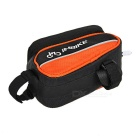 "INBIKE IB289 Cycling Bike Top Tube Bag for 4.8"" Phone - Black + Orange"