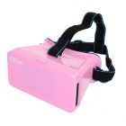 """iBlue Universal 3D Virtual Reality Video Glasses w/ Magnet for 4~7"""" Mobile Phones - Pink"""