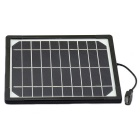 Jtron 5V 5W Monocrystalline Silicone Solar / Mobile Power / Cellphone USB 1A Charging Board - Black