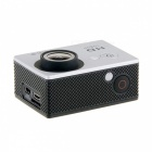 "H1080P N9 WIFI Waterproof 12MP Sports Camera w/ 2"" LCD, HDMI - Silver"