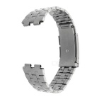 Stainless Steel Band Watchband for Pebble Steel 2 Smart Watch - Silver