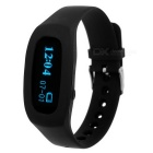"Bluetooth V4.0 Smart-Armband w / 0,91 ""Screen / Schrittzähler / Sleep-Monitor - Schwarz"