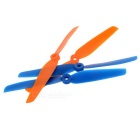 Replacement Nylon 6030 CW & CCW Propellers Set - Blue + Orange (2Sets)