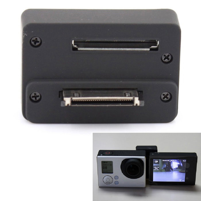 Back Screen LCD Converter Box for Gopro Hero 3 / 3+ / 4