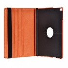 Protective PU Case Cover w/ Auto Sleep, Stand for IPAD AIR - Orange