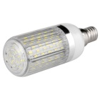 E14 12W Highlight LED Corn Light White 120-3014 SMD 1020lm 6000K w/ Striped Cover (AC 85~265V)
