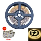 JIAWEN 25W LED Strip Lamp Warm White 3200K 2200lm 300-3528 SMD w/ 1m Free Strip Set (DC12V / 5m+1m)