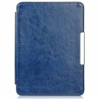 EPGATE Protective PU + PC Flip Case Cover for KOBO GLO HD - Deep Blue