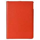 360 Degree Rotating PU Leather Case w/ Stand / Auto Sleep for IPAD AIR 2 / IPAD 6 - Orange
