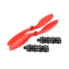 8 x 4.5 CW & CCW Propellers Set for RC Fixed-Wing Airplane Plane - Red