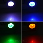 E27 3W 21lm RGB LED Dimmable Colorful Spotlight w/ Remote (3PCS)