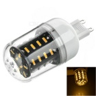 G9 4.5W 280lm 36-SMD 4014 LED Warm White Light Corn Lamp 3500K w/ Cover (AC 220V)