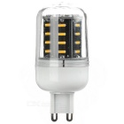 G9 4.5W 280lm 36-SMD LED Warm White Light Corn Lamp 3500K w / Cover