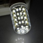 E14 5W 380lm 56-SMD 4014 LED Corn Lamp Cool White Light w/ Cover