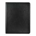 Lychee Pattern Rotatable Protective PU Case w/ Stand / Auto Wake-up / Sleep for IPAD 2/3/4 - Black