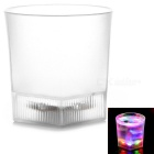 Magic Inductive Rainbow Color Matte Cup LED Flash With Water for Bar / Party / House Decoration