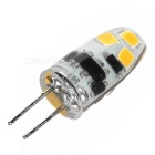 G4 6-SMD 2835 LED Dimmable Warm White Light Lamp 90lm 3500K (DC 12V)