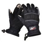 PRO-BIKER MTV07 Motorcycle  Outdoor Water Resistant Warm Full-Finger Gloves - Black (L / Pair)
