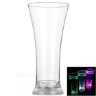 Magic Inductive Rainbow Color Cup LED Flash With Water for Bar / Party / House Decoration