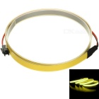 1032mW 590nm 126cd/m2 Yellow Light Electroluminescent EL Tape - Yellow (1m)