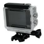 "Waterproof 2"" LCD 12MP 1080P Wi-Fi Sports Camera - White + Black"