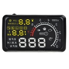 "X3 5.5"" ELM327 Bluetooth HUD Head-Up Display Windshield Projector w/ OBD Cable - Black"