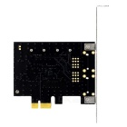 Desktop PCI-E to SATA 3.0 Expansion Adapter Card - Black