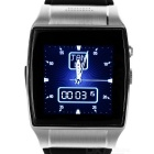"Wearable 1.55"" Touch Screen GSM Quad-band Watch Phone w/ Bluetooth, Pedometer, TF - Silver"