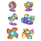M78 Brain Development Educational Magnetic Construction Piece Toy for Children / Kids - Multicolored