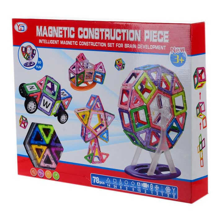 Brain Development Toys : M brain development educational magnetic construction