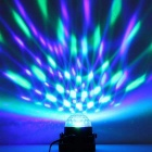 exLED 5W RGB Magic Ball Effect Voice Control Stage Light for Party