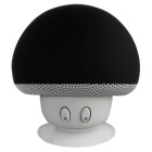 Mushroom Style Mini Wireless Bluetooth Speaker - Black