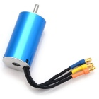 High Performance 2850 4450KV Sensorless Brushless Motor for RC Car / Boat - Blue + Silver