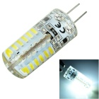 G4 Silicone Seal 5W 500lm 48-SMD 3014 LED Bluish White Light Bulb Lamp