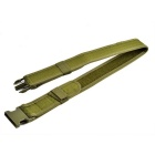 "2"" Outdoor Adjustable Tactical Nylon Waist Belt - Army Green"