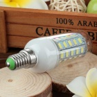 E14 3.5W 600lm 48-SMD LED Cold White Light Corn Lamp Constant Current