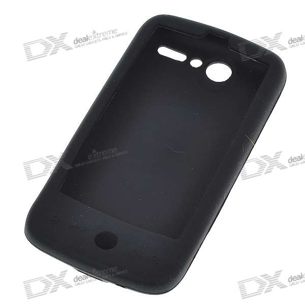 Protective Silicone Case for HTC G7 / HTC Desire 2 (Black)